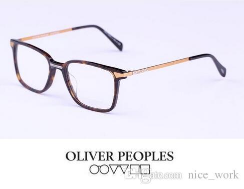 9389e01fb5 2019 Brand Glasses Vintage Optical Glasses Frame Oliver Peoples OV5294  Eyeglasses Hal Eyeglasses For Women And Men Eyewear Frames With Metal Leg  From ...