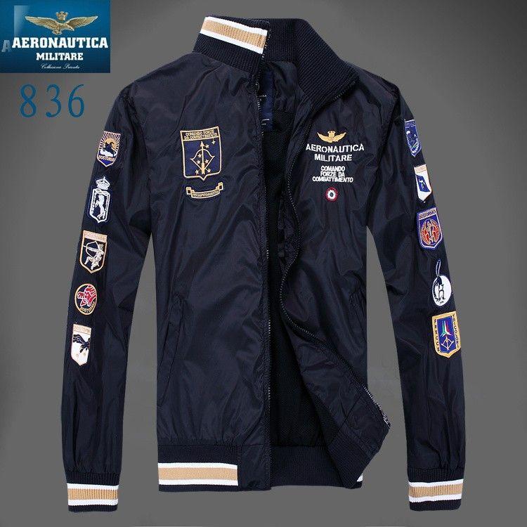 2016 New Style Aeronautica Militare Jackets Sports Men'S Polo Air ...