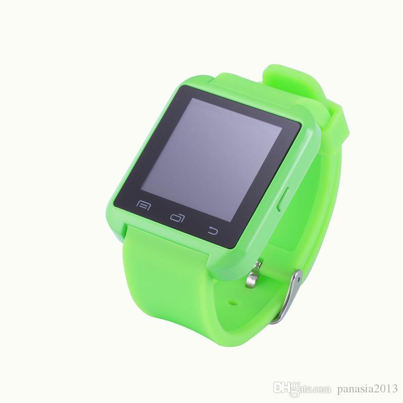 Bluetooth Smartwatch U8 U Montre Smart Watch Montres au poignet pour iPhone 4 / 4S / 5 / 5S Samsung S4 / S5 / Note 2 / Note 3 HTC Android Téléphone Smartphones 005