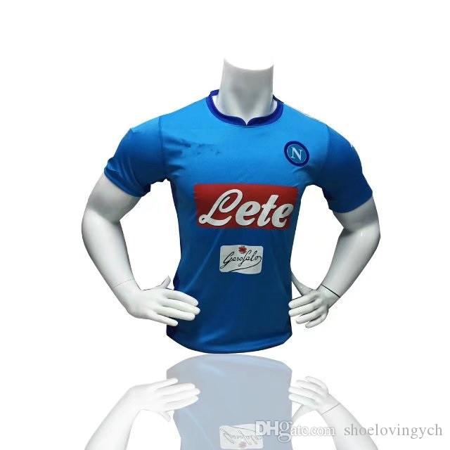 completo calcio Napoli Uomo