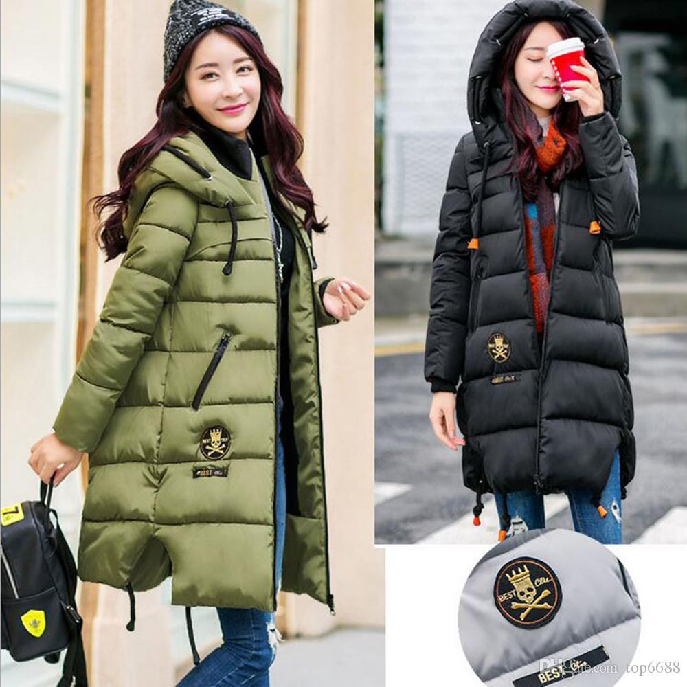 2017 New 2017 Winter Thickening Women Parkas Women'S Fashion ...