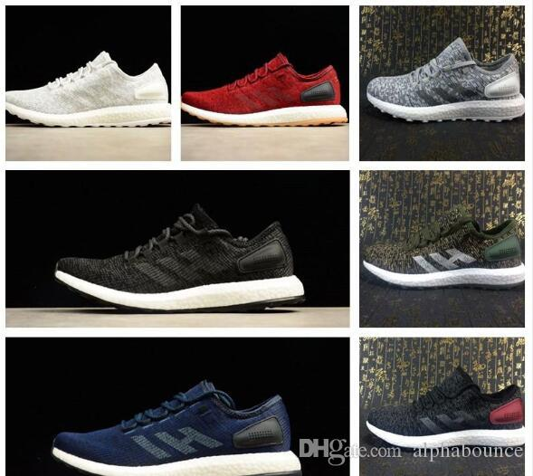 4b1e035619b73 New Sale Pure Boost 2.0 DPR Running Shoes Men Women High Quality PureBoost  2.0 III White Black Athletic Shoes Size 36 45 Leather Shoes Dress Shoes For  Men ...