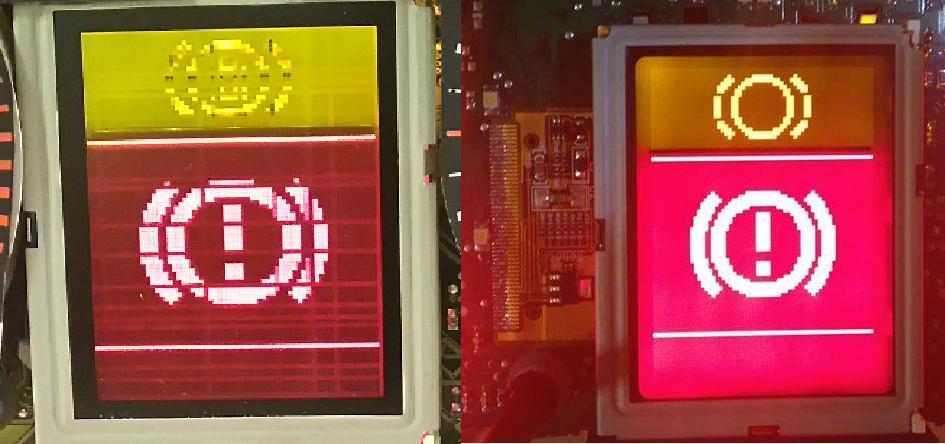 New for AUDI TT VDO CAR LCD Display screen For audi TT Jaeger A3 A4/A6 display