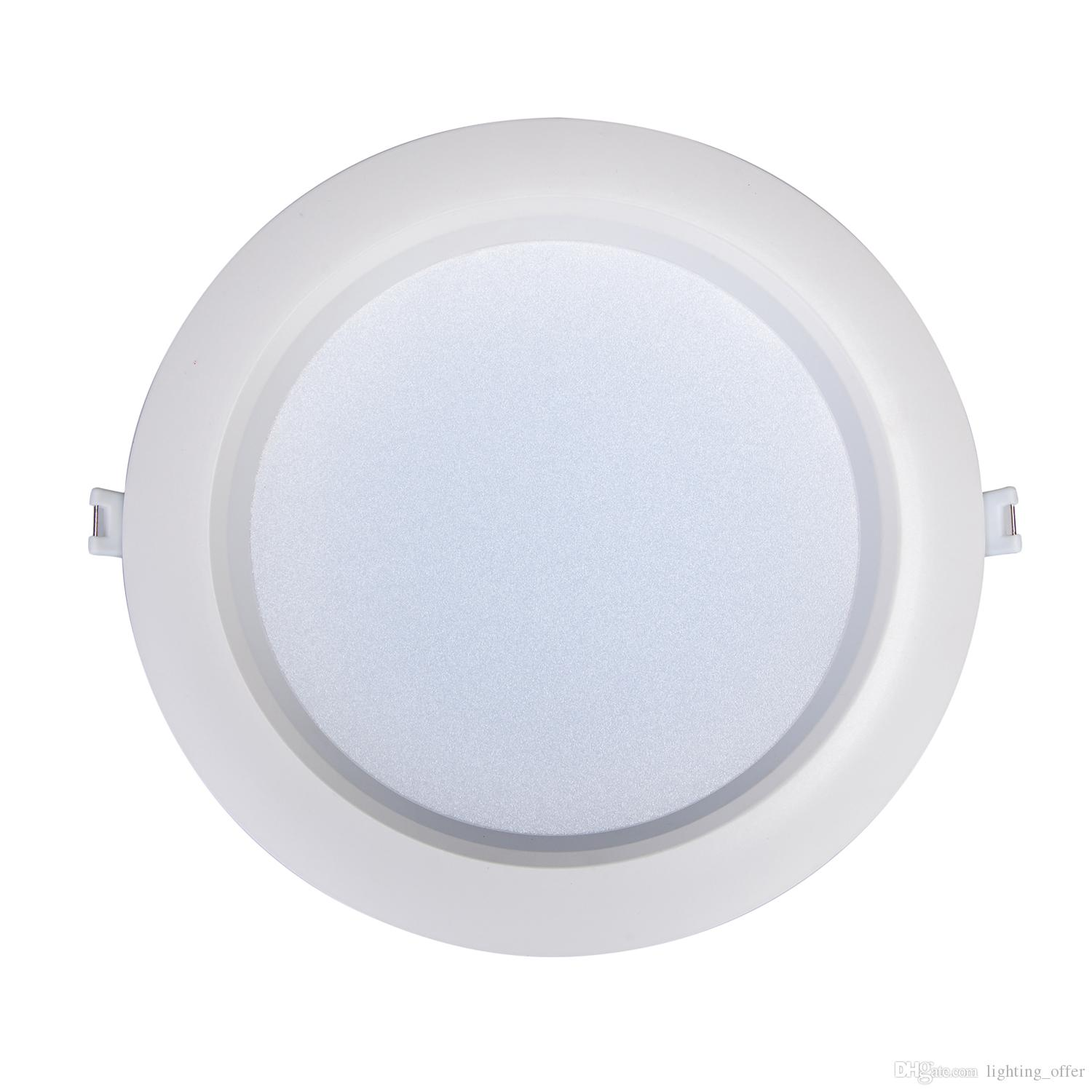 24 watt round led ceiling light recessed kitchen bathroom lamp 110v