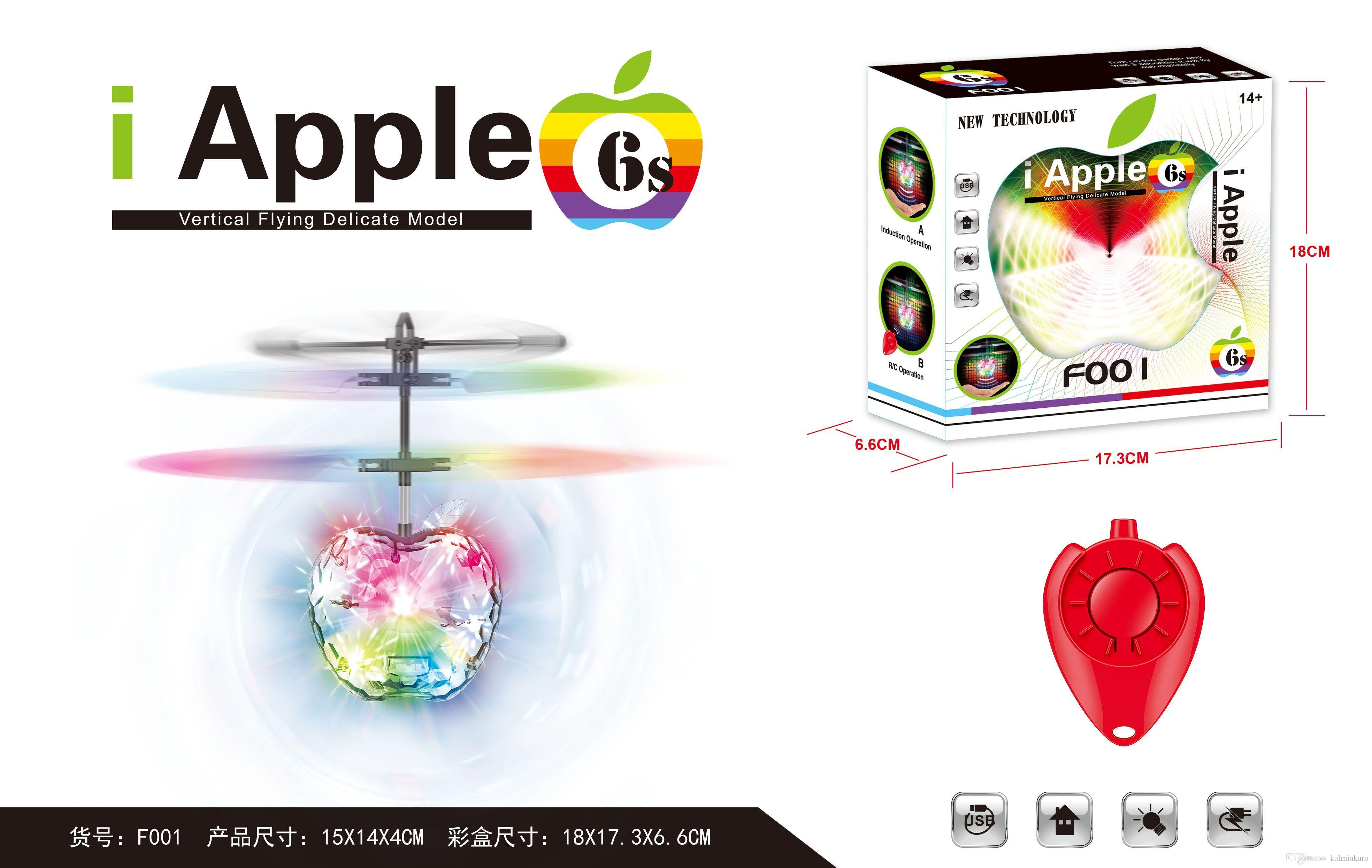 Apple Vertical Flying Delicate Toys Develop Intelligence Learning
