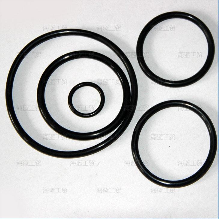 Black O-Ring Seals NBR70A ID380.37,405.26,430.66,456.06,481.41,506.81,532.21,557.61,582.68,608.08mm*C/S5.33mm AS568 Standard