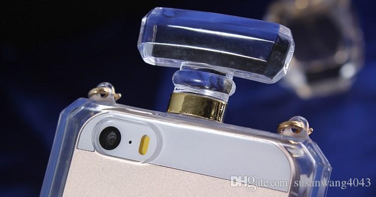 Funda de teléfono con botella de perfume para iphone X XR XS Max iphone 8 7 6 6 s más S8 S7edge fundas de TPU blandas Funda protectora caso GSZ189
