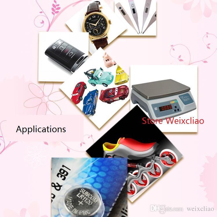 50 pz 1 lotto AG8 LR1120 LR55 191 381 391 391A SR1120 L1121 1.55 V alcalina batteria a bottone batterie a bottone Spedizione gratuita