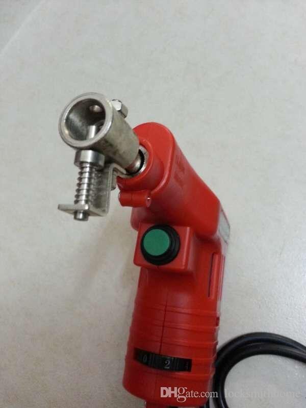 Nieuwe Dimple Lock Electronic Bump Pick Gun met 20 pinnen voor Kaba Lock, Slotenmaker Gereedschap, Key Cutter, Lock