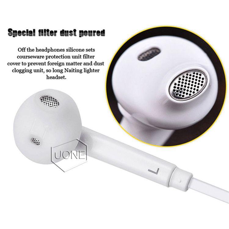 S6 S7 سماعة سماعات سماعات الأذن J5 فون 6 6S سماعة جاك في الأذن السلكية مع مايكروفون التحكم بحجم الصوت 3.5MM الأبيض مع RetailBox