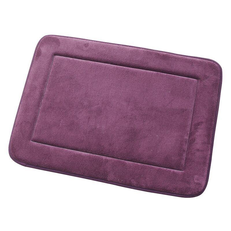 100% Micro Fiber Non-slip PVC Backing Bath Mat for Bathroom Muilt ...