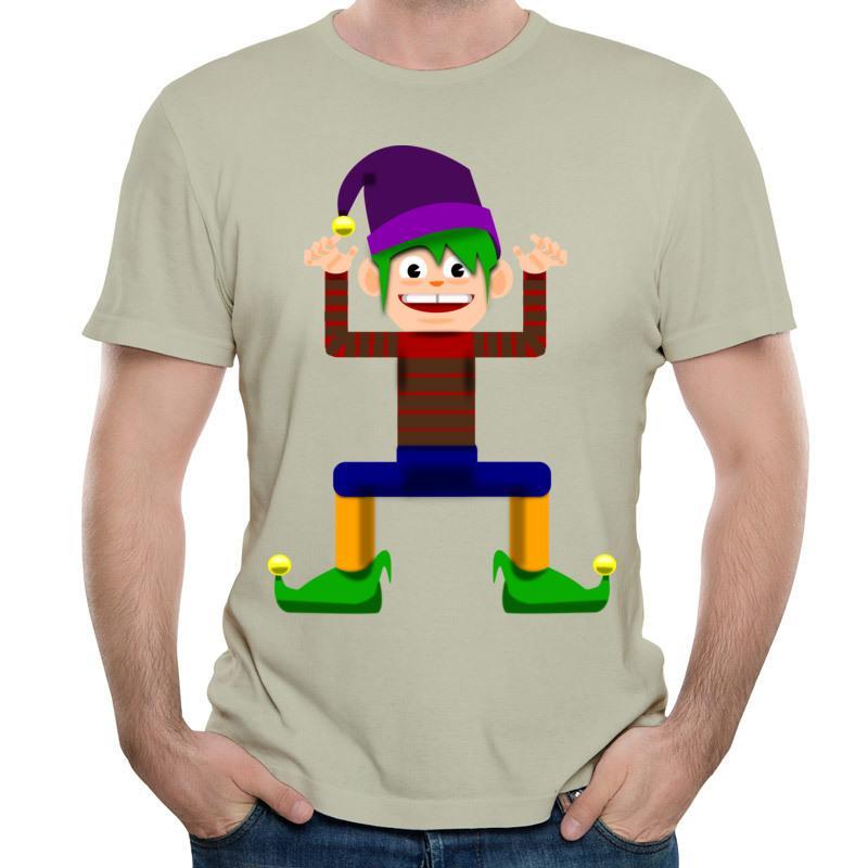 만화 티 셔츠 남성 간단한 스타일 탑스와 정말 재미있는 옷 대형 3XL 여행 티 셔츠 도매 무료 배송