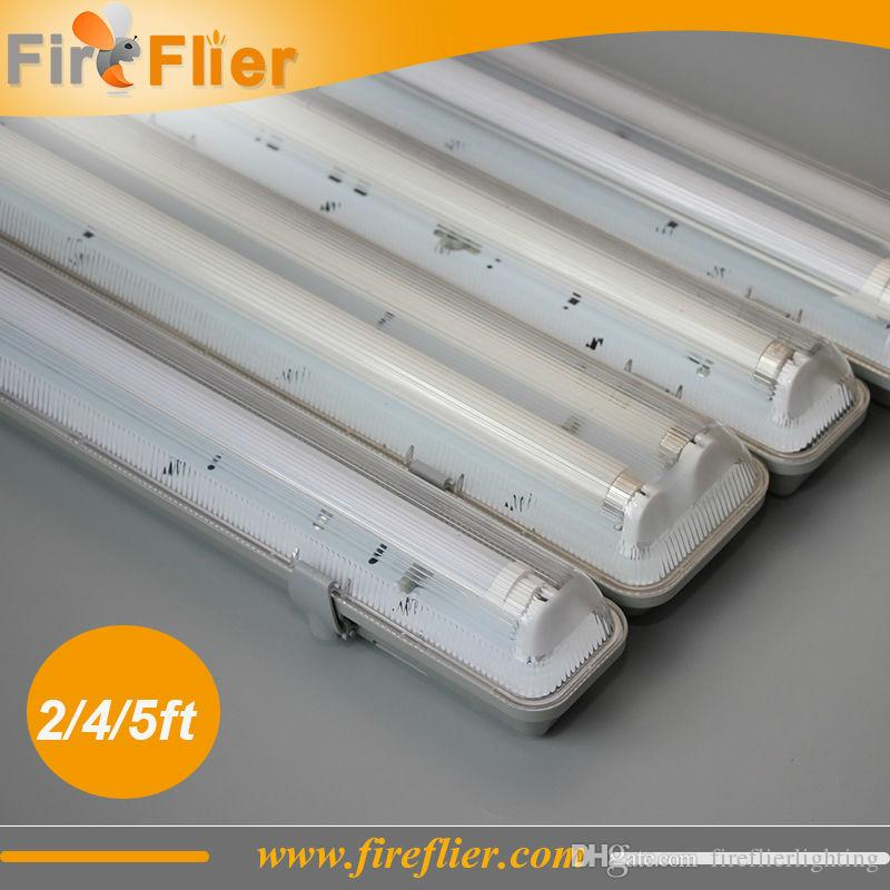 Ultra 2019 IP65 120cm 4ft Double Led Tubes Lighting Fixture 2*18w 1.2m DZ-47