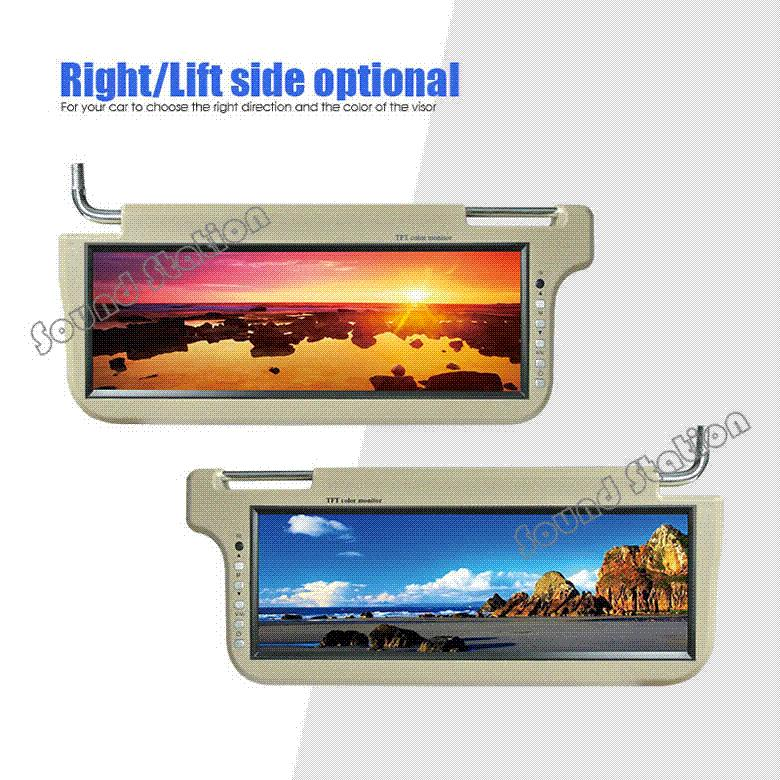 X 12.2   Inch Automotivo Auto Car Universal Sun Visor TFT LCD Sunvisor  Monitor Big Screeen Mobile Audio Video System Lcd Microscope Lcd Cctv  Monitor Lcd ... 9bf16d99587