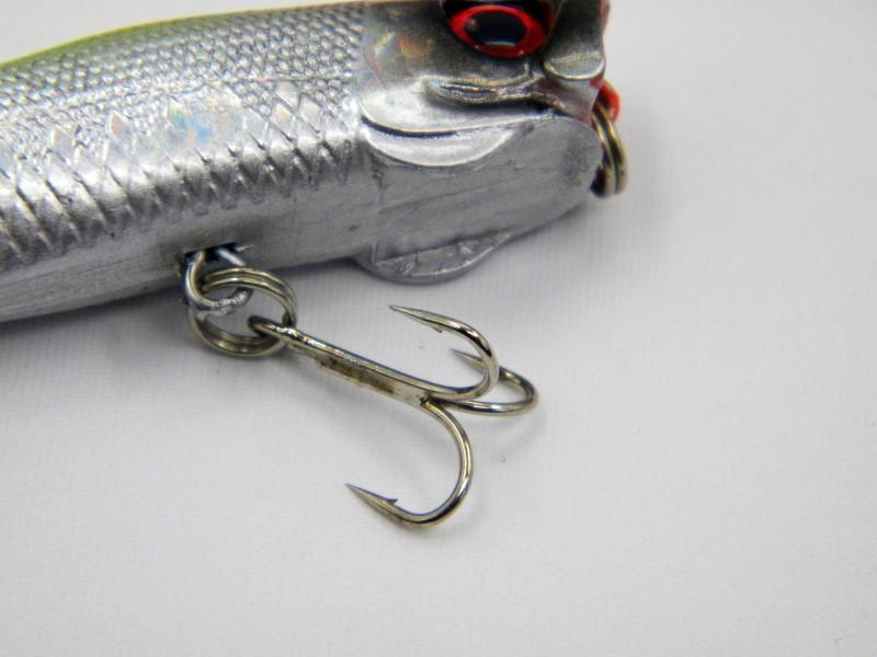 New Popper Fishing Bait Jigging Lures Artificial bait 7cm 6.2g Topwater 3D Eyes Poper crank baits