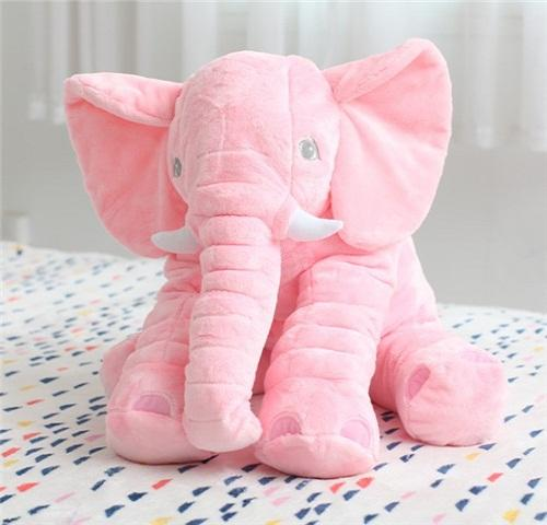 Plush Toys New Long Nose Elephant Doll Pillow Soft Plush Stuff Toys Lumbar Pillow Baby Kids Baby Hold Pillow To Placate Plush Toys