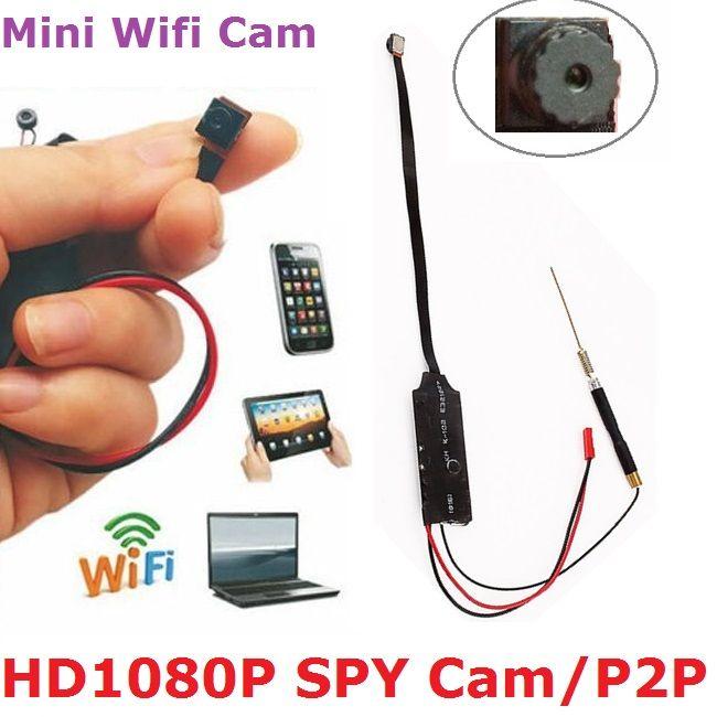 Smallest Mini Camera Spy Cam Hd 1080p Wifi Video Recorder Dvr 32gb Max Hidden Camera Motion Detection Work Spy Portable Dvr Free Shipping