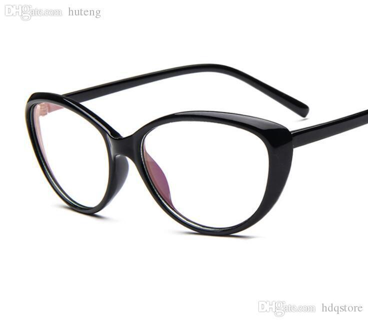 e7cd0df0273 Wholesale-New 2016 Fashion Cat Eye Glasses Frames For Women Vintage ...