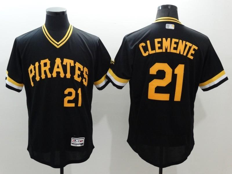 622dd251d ... 2017 2016 Cheap MenS Pittsburgh Pirates 22 Andrew Mccutchen Baseball  Jerseys 24 Bonds Majestic Black Flex .