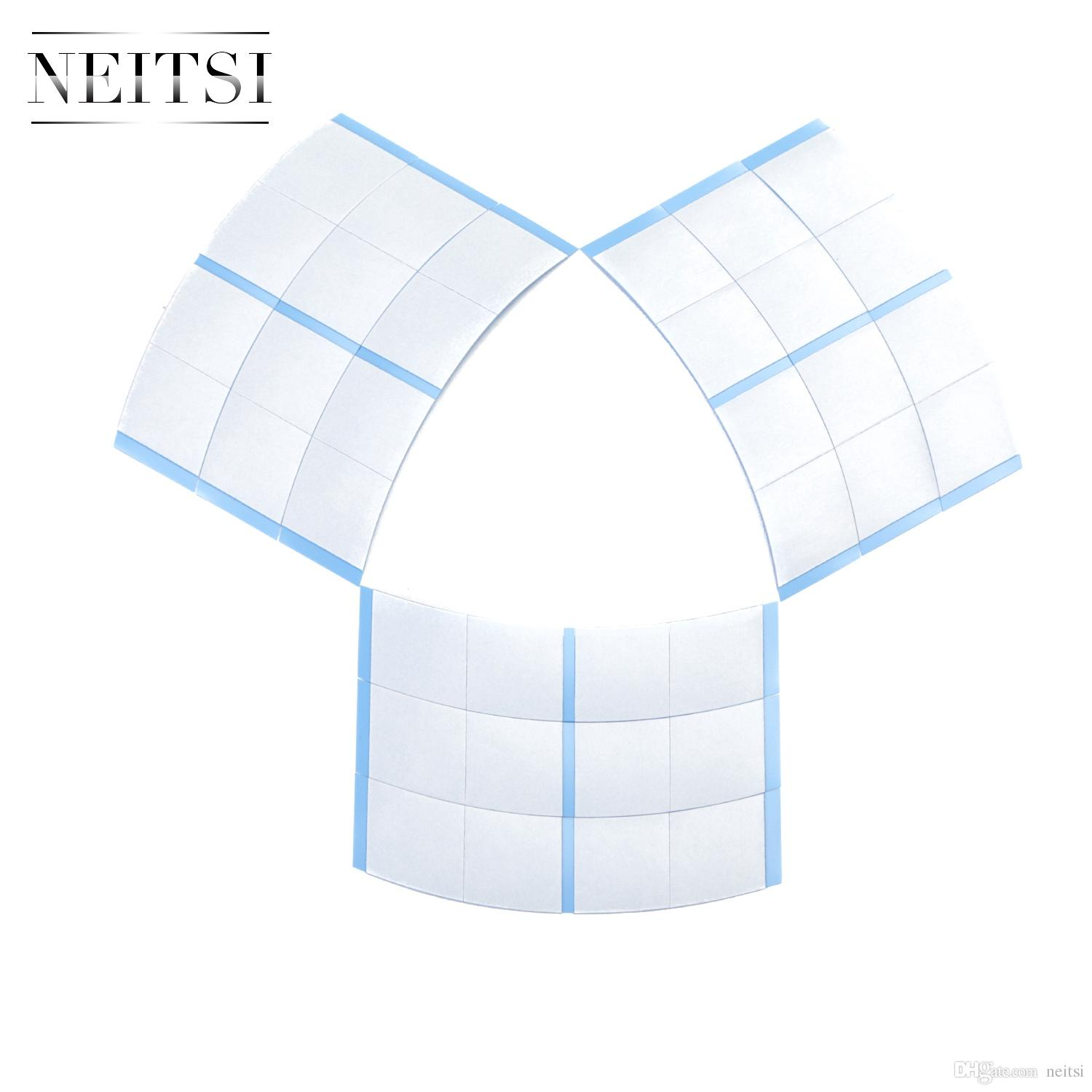 Wholsale Price Neitsi 36pcs/bag Blue Ultra Hold Tape Hair Tape Adhesive Double Side Medical US Walker Tape For Lace Wigs Toupees