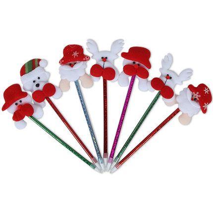 Korea Hot Products Weihnachten Cartoon Kugelschreiber alten Kopf Weihnachtsgeschenke Großhandel Schule liefert Preise Angebote