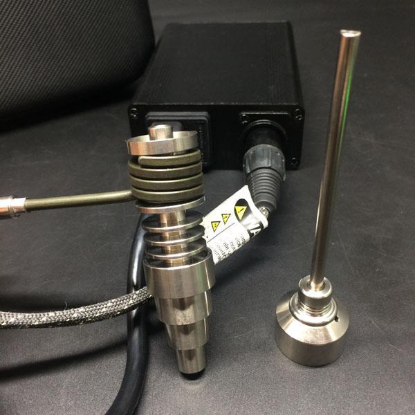 Recycler dab rigs E bobine de clou chauffante numérique plate 16mm 20mm avec conduites d'eau en nid d'abeille bong en verre pour plate-forme pétrolière