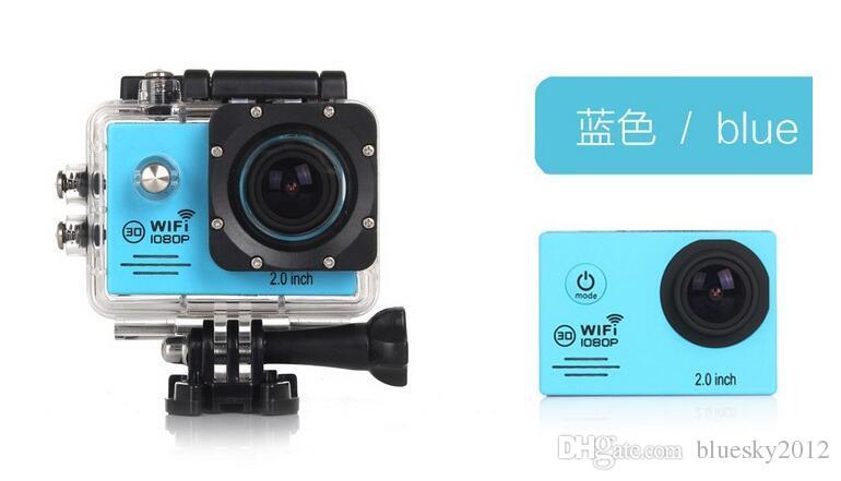 SJ7000 Full HD 1080 P Câmera de Ação À Prova D 'Água WIFI Sports Camcorder + Extra bateria + Carregador 2.0