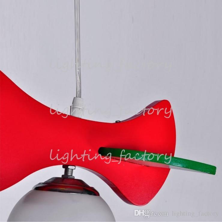 Enfants chambre lampe lumière avion créatif dessin animé garçon chambre lustre éclairage simple lampe de chambre pour enfants livraison gratuite
