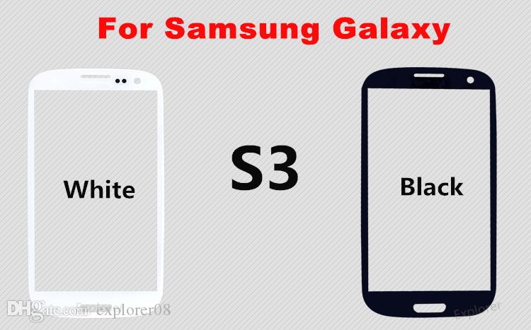 For iphone 5 6 6S plus Front Outer Glass Lens For Samsung Galaxy Note 1 2 3 4 S3 S4 S5 Replacement Parts