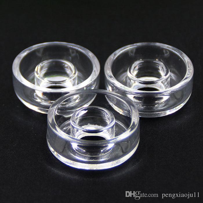 Prato de quartzo para Titânio Híbrido Titanium / Qtz Titânio Híbrido de quartzo de Substituição de Unha Quartzo Bongos de Unha