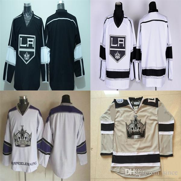 Factory Outlet Los Angeles Kings Blank Jersey Black White Gray Camo ... 1eafec4fe