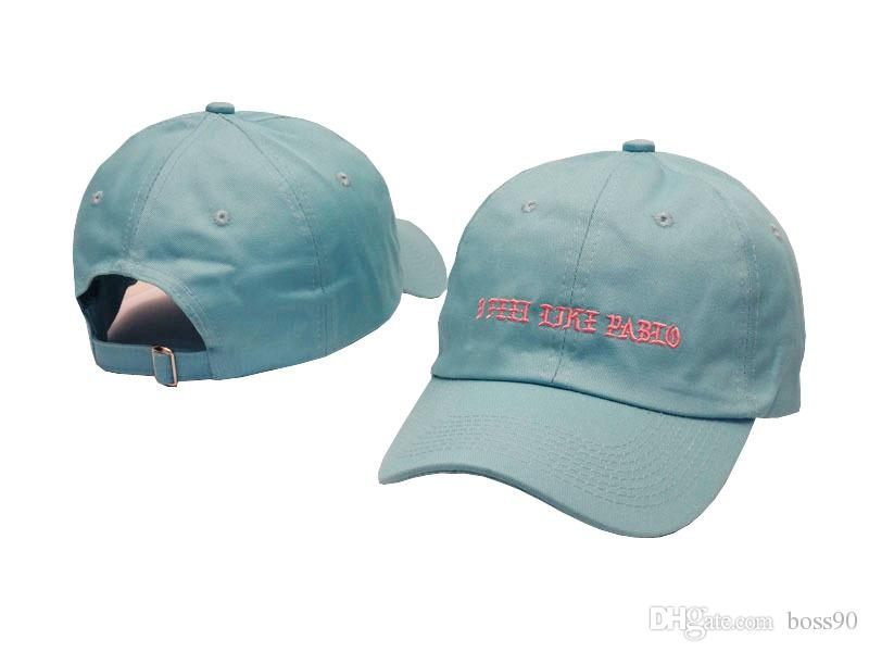 Wholesale Casquette i feel like pablo kobe cap new i feel like lebron cap 6 Panel Unstructured Hat snapback yeezus cap hip hop