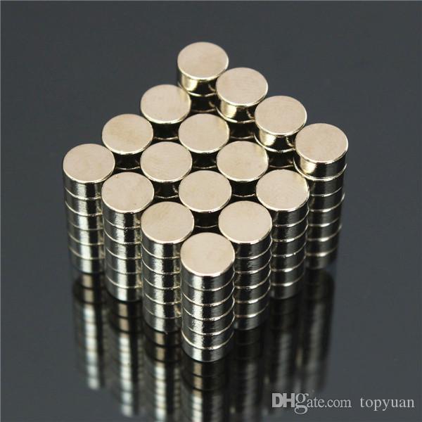 aimants super puissants N50 de disque aimants au néodyme de terres rares 6mm x 3mm