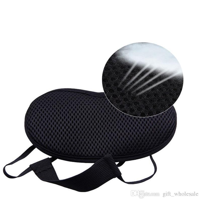 Bambu-Carbono amoreira de seda sono máscara de ventilação de ventilação mulheres adoráveis apagões óculos tampões de ouvido para dormir mais novo