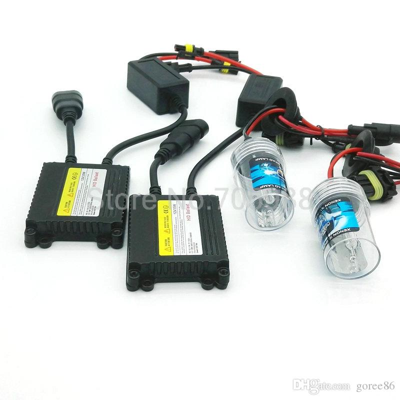 DC 35W 12V H7 HID Fast Start Xenon Bulb Headlight Xenon Conversion Kit Headlamp H1 H3 H7 H8 H9 H11 HB4 9005 9006