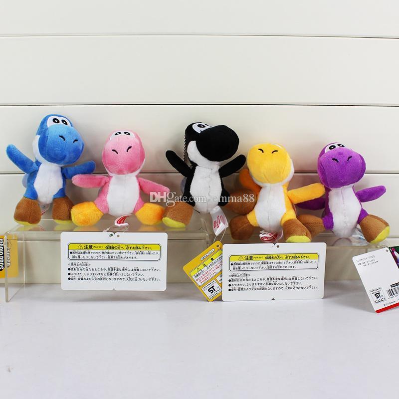 Super Mario Bros Yoshi Plush Anime Keychain Plush doll kids gift 10cm