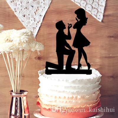 2019 Fiance And Fiancee Engagement Cake Topper Wedding Engagement