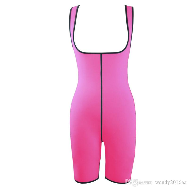 S-2XL Women Ultra Sweat Gym Fitness Shapers Thermal Bodysuit Full Body Shaper Sauna Suit Slimming Waist Trainer Corsets