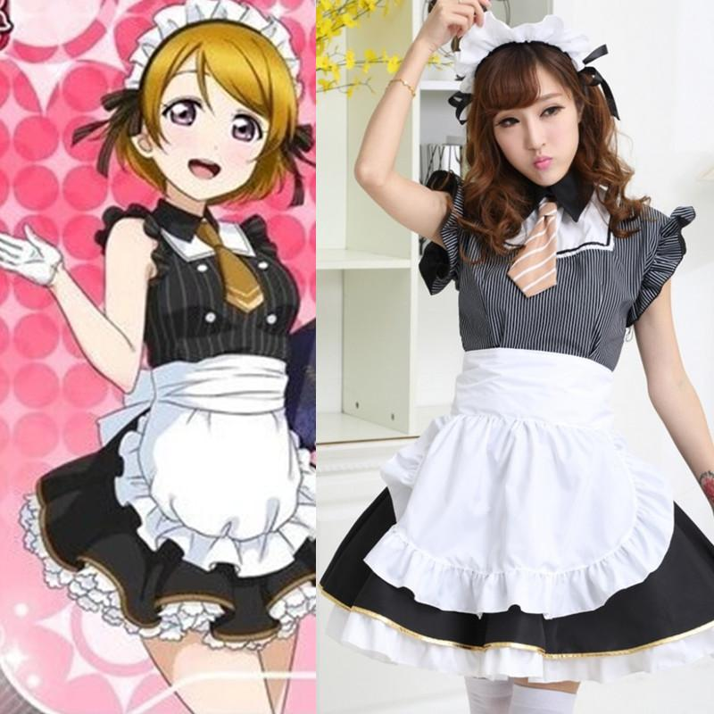 japanese cosplay costumes love live grey and white plaid cosplay