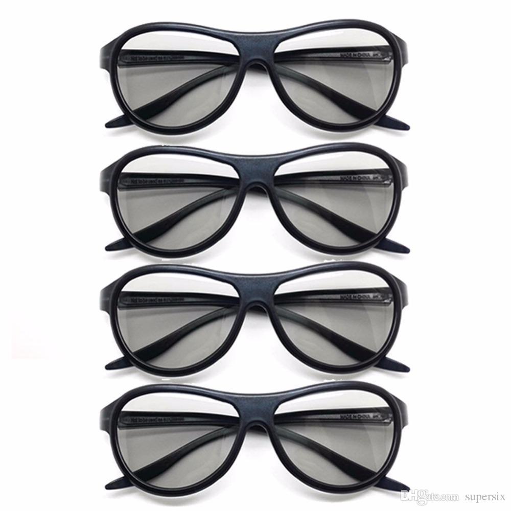 Compre 4 Pçs   Lote Substituição AG F310 3D Óculos Óculos Polarizados Para  LG TCL Samsung SONY Konka Reald 3D Cinema TV Computador De Supersix, ... bb8496170d
