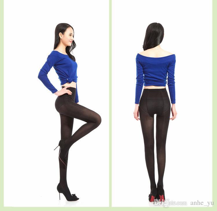 Sexy Femmes Bas Taille Haute Brillant Brillant Plus Grande Taille Bas Club Danse Cuisse Bas Collants Façonnage Pantyhose FX10