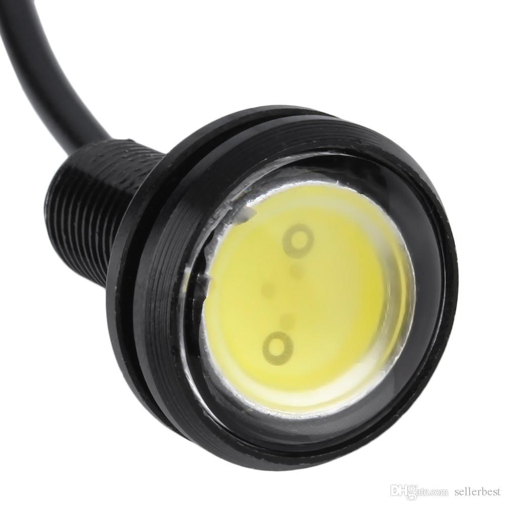 Luce di posizione 23mm Eagle Eye luci led auto DRL Luce di marcia diurna 12V 9W Fendinebbia Fanale posteriore impermeabile