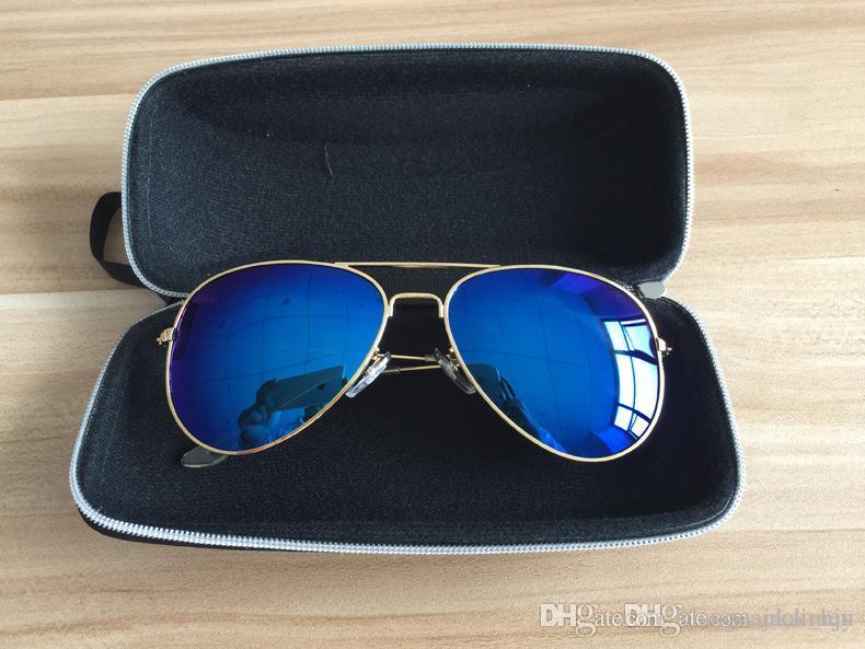 Nouvelles lunettes d'arrivée cas Sports de plein air Lunettes de soleil en cuir Boîtes plein air Lunettes Portable Case cas la vente de lunettes