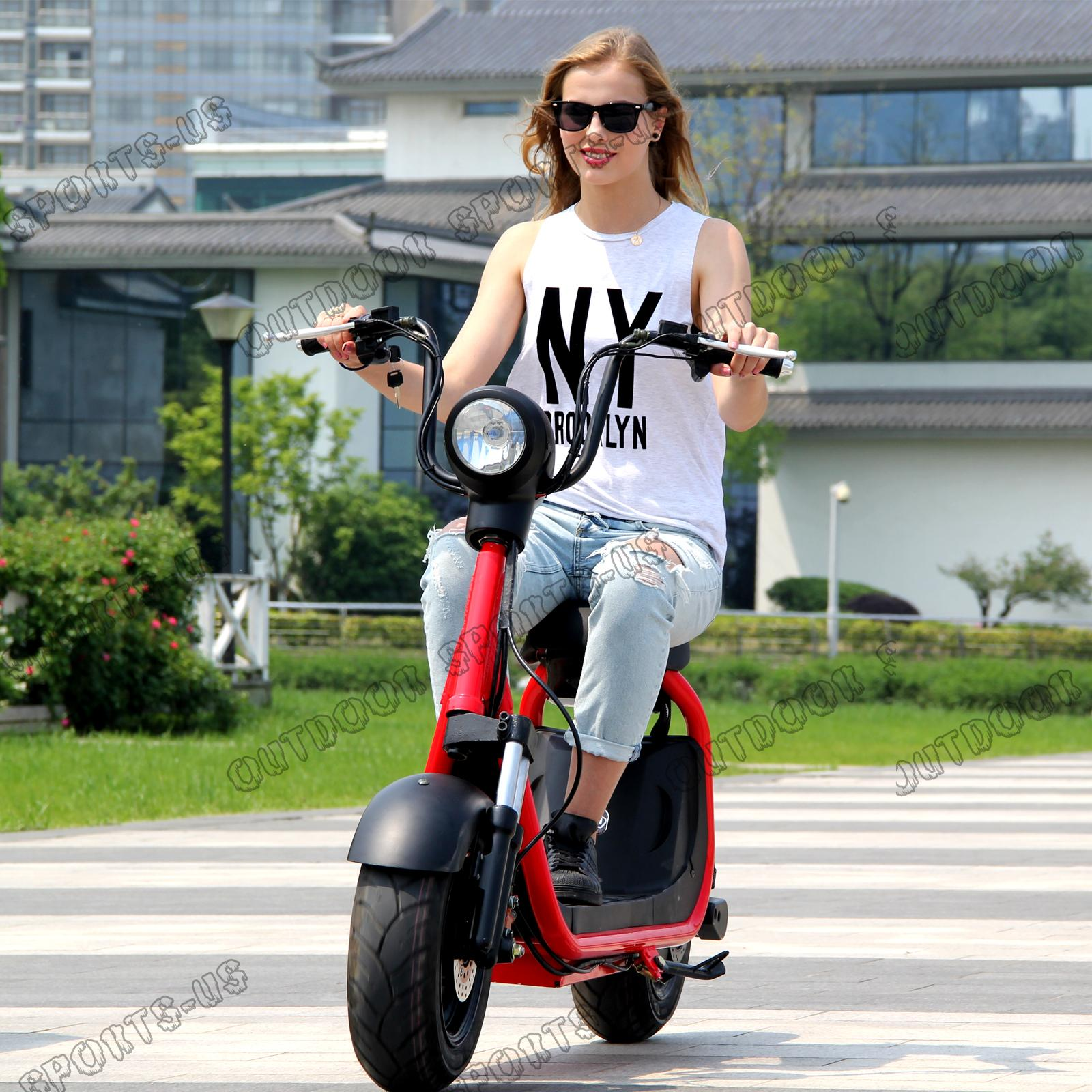 2019 Citycoco 2 Wheels Off Road Smart City Electric Scooter