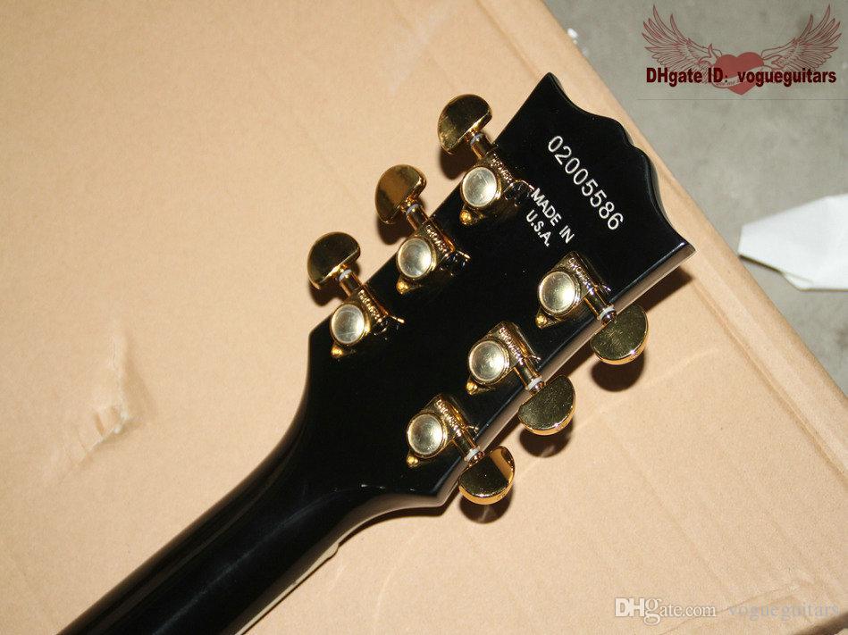 New custom Black Beauty Custom Electric Guitar Mahogany body From China