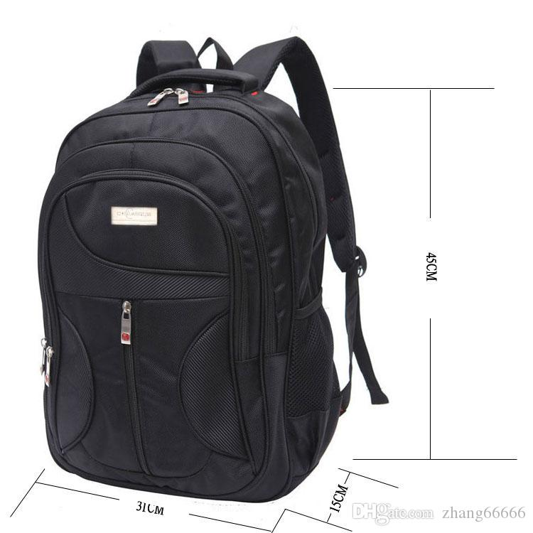 9a62e8f499a0 Stylish Men Waterproof Large Capacity Bag Travel Laptop Backpack Nylon  College Tide Casual Men's Backpacks School Bag