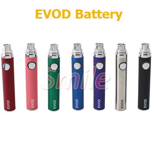 E Zigarette Evod Batterie Elektronische Zigarette Evod Batterie 650mAh 900mAh 1100mAh Für E Cig MT3 CE4 Zerstäuber