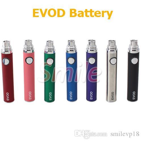EGO EVOD Batterie-elektronische Zigarette bunte MT3 Batterie 650mAh 900mAh 1100mAh für CE4 CE5 EVOD EGO Clearomizer