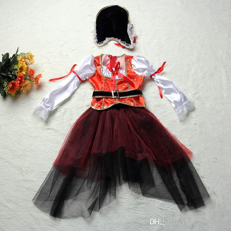 2016 Chilrden's Day Stage Dance Dresses Cosplay a Set Clothing Halloween Costumes Suit Clothes Girls' Garment Mixed Color