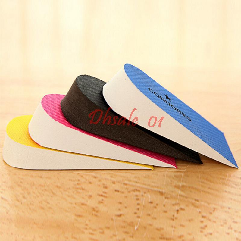 EVA Height Increase Heel Insoles 2.5cm Taller Up For Men Women By DHL